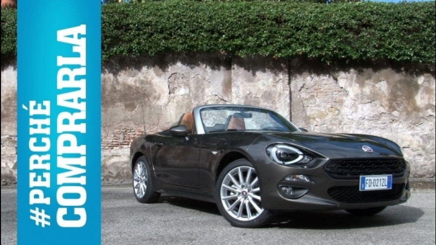 Fiat 124 Spider, perché comprarla… e perché no [VIDEO]