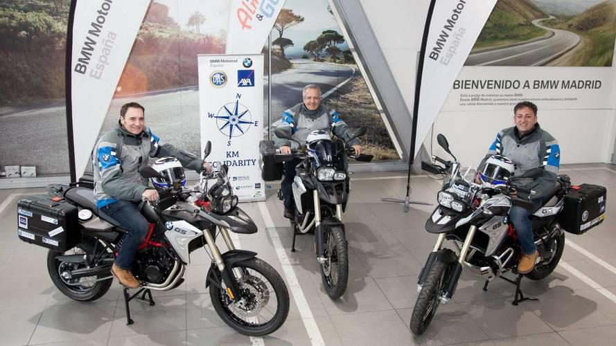 KM Solidarity, la asociación solidaria apoyada por BMW Motorrad