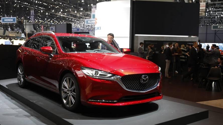 Mazda6 Wagon 2018: el familiar se deja ver en el salón de Ginebra