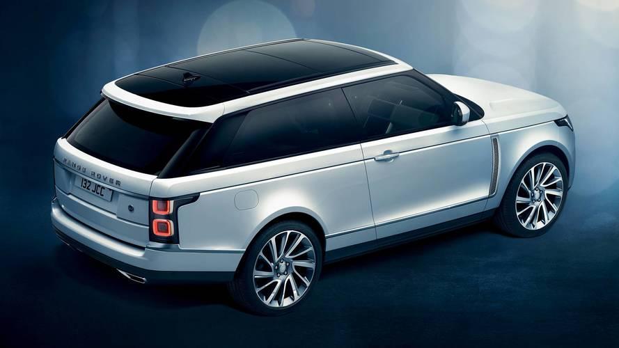 Range Rover SV Coupé, il SUV di lusso ha 2 porte