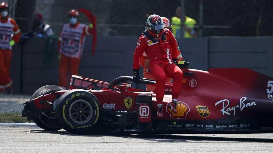 La FIA investigará los cinturones del accidente de Sainz