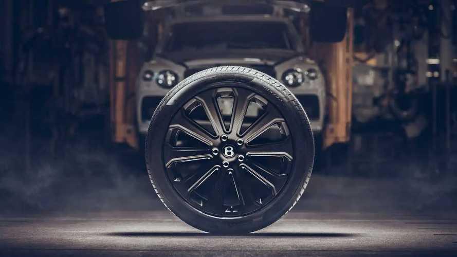 Roda Serat Karbon Mulliner 22 Inci untuk Bentley Bentayga