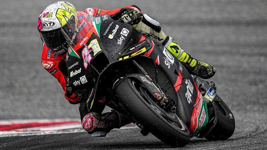 Aprilia Won't Rush Viñales Into MotoGP Debut