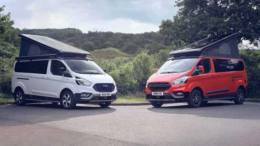 Ford lance les Transit Nugget Active et Trail en Europe