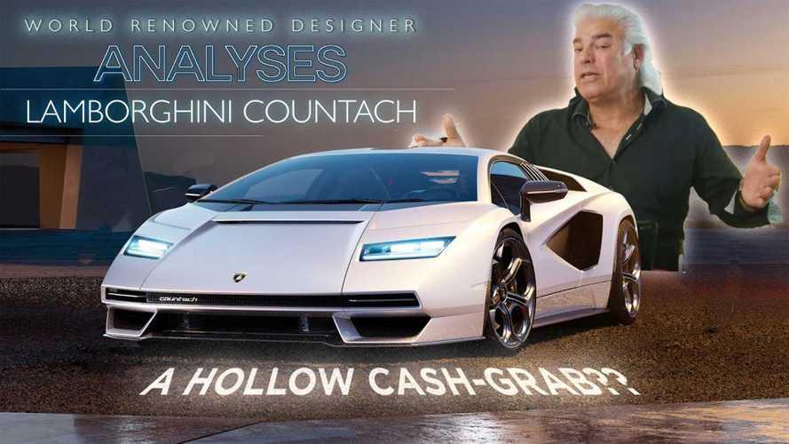 Desainer Kelas Dunia Kupas Tuntas Lamborghini Countach Baru