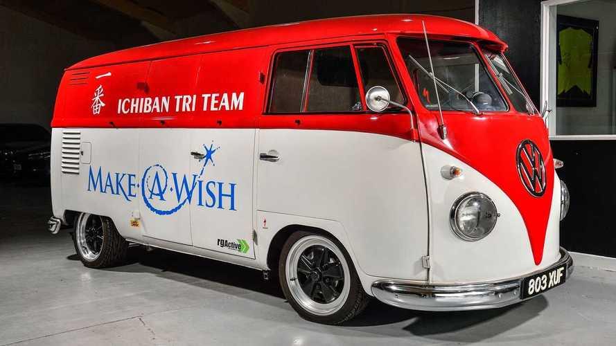 Volkswagen Splitscreen de Jenson Button: vendida por 32.710 euros