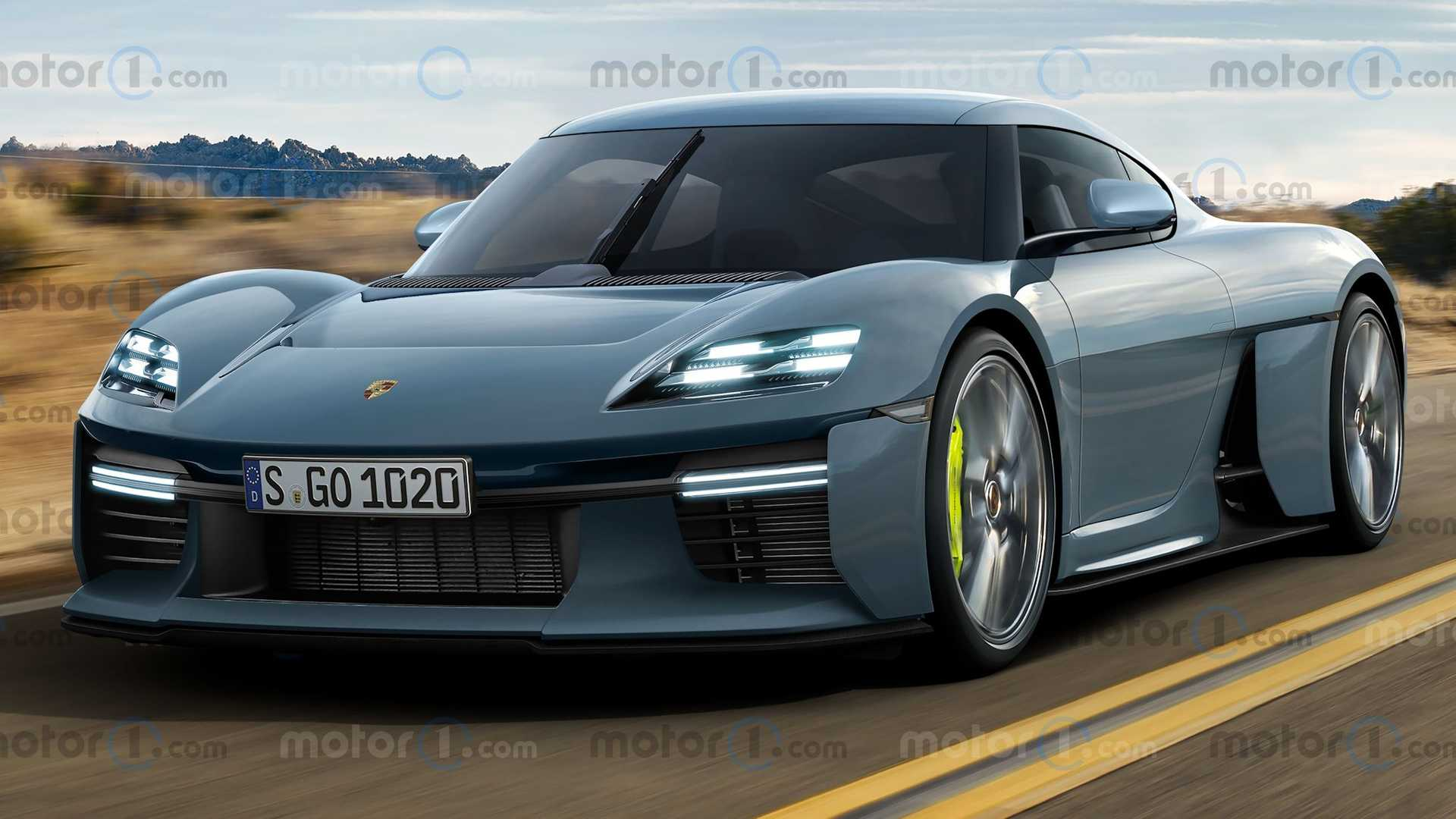 Representaciones de producción de Porsche Mission R