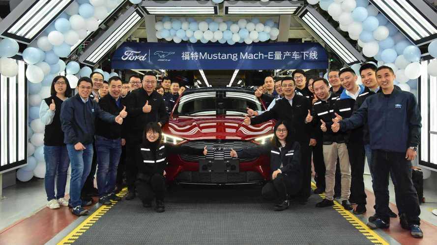 SUV elétrico Ford Mustang Mach-E tem início de produção na China