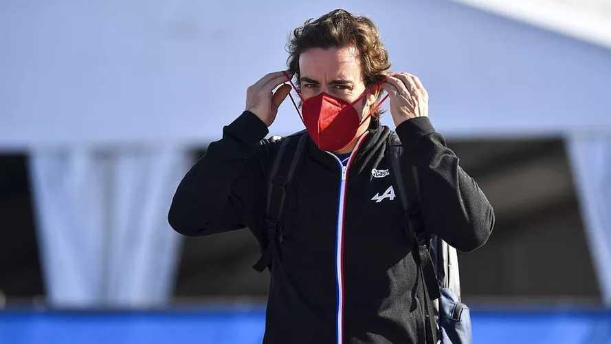 "Alonso, a divertirse y puntuar en Austin: ""¡Espero que en seco!"""