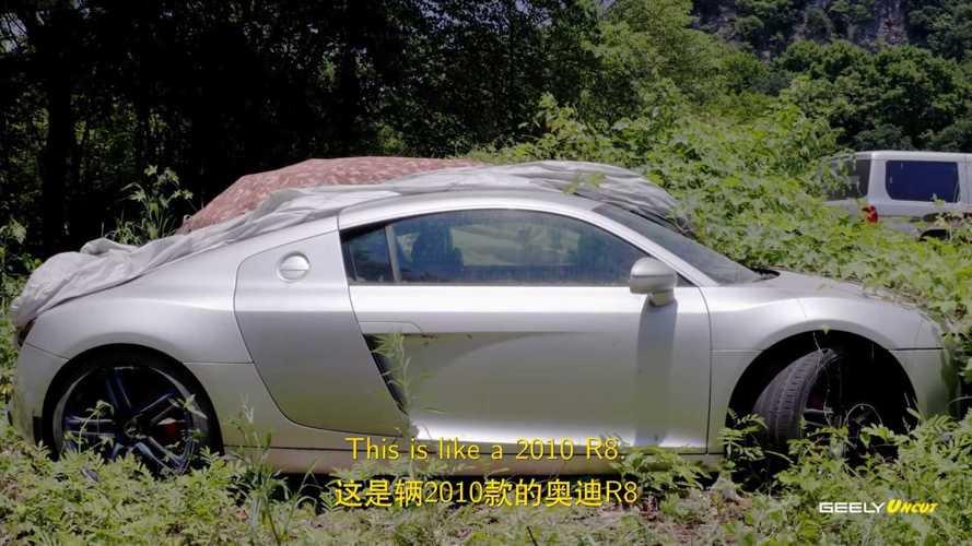 Vidéo - Un cimetière de voitures de luxe en Chine