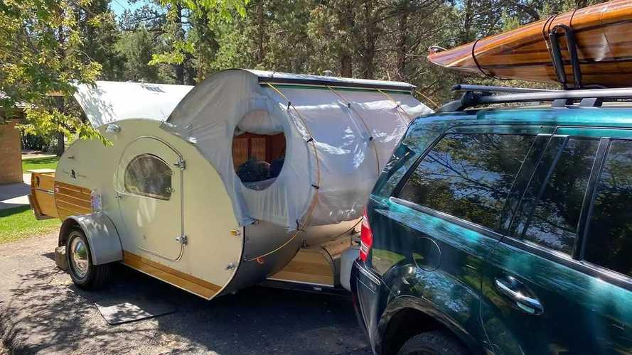 Nueva caravana Odyssey Teardrop, con diseño vintage para dos