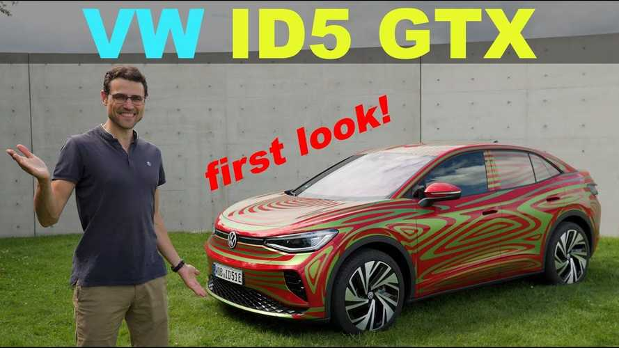 Watch Volkswagen ID.5 GTX Overview And Test Drive Impressions
