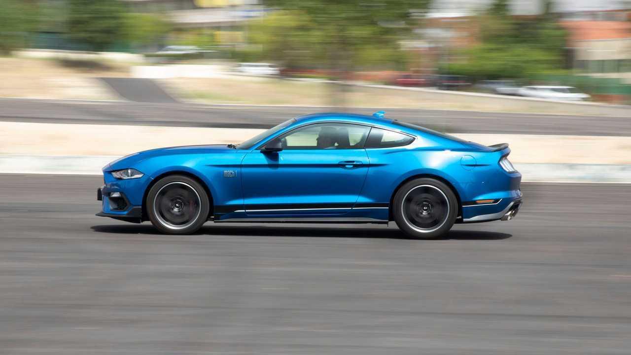 Prueba Ford Mustang Mach 1