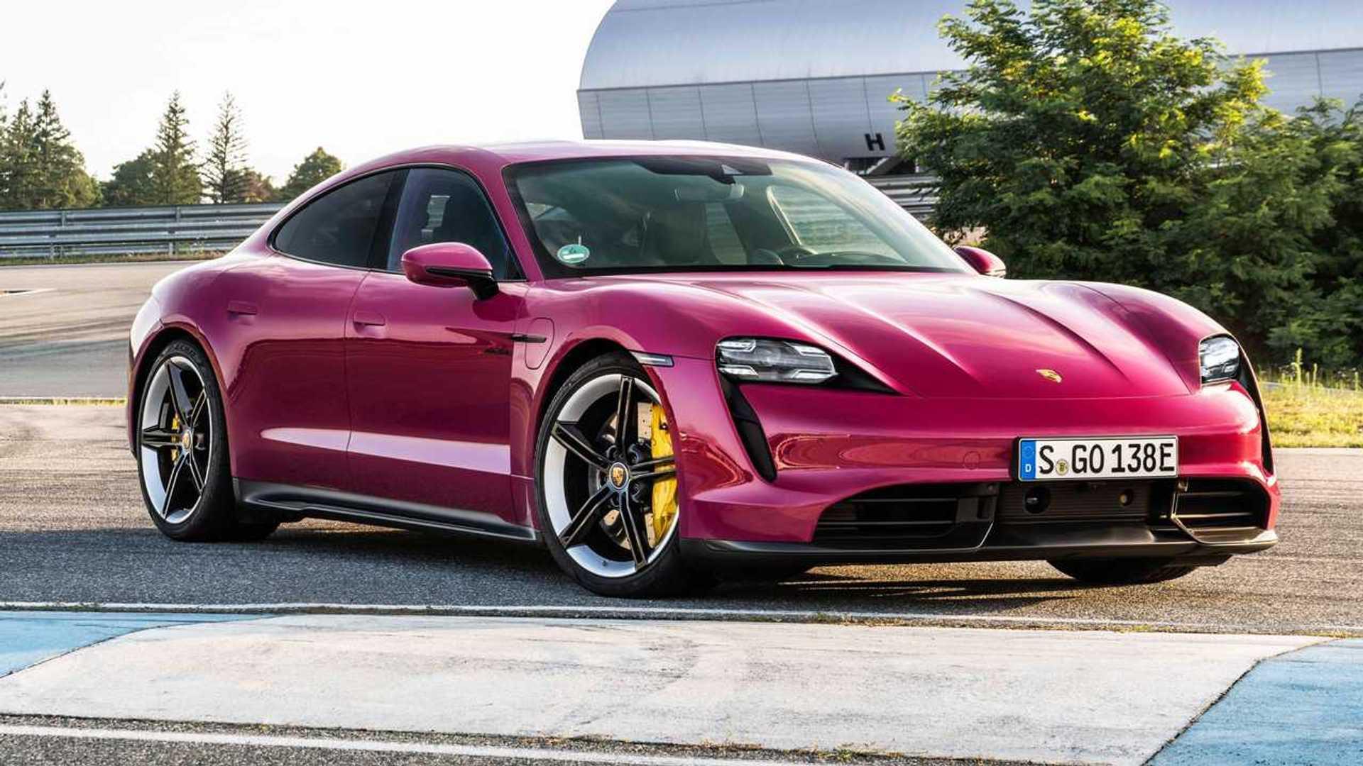 Porsche Taycan elétrico vende mais que o clássico 911 pela 1ª vez