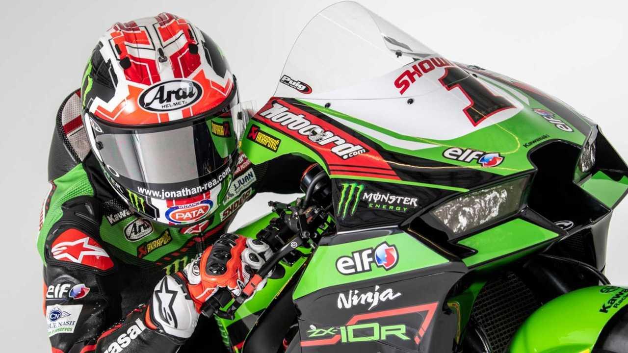 Jonathan Rea Kawasaki Racing Team