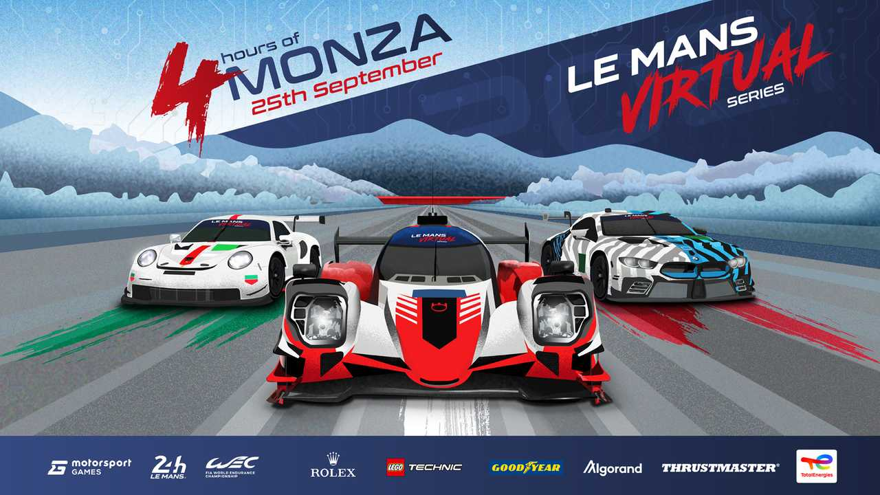 Le Mans Virtual Series Competitors Monza