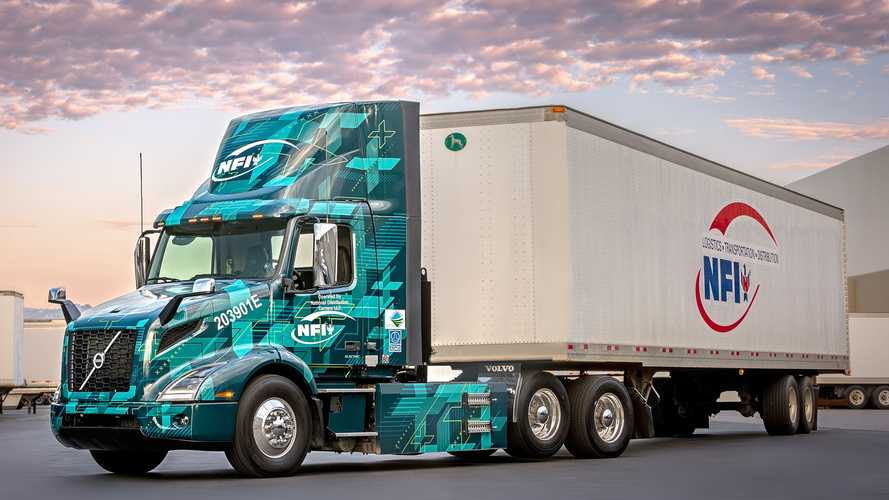 Volvo Trucks Notes Its Largest Electric Truck Order In U.S.