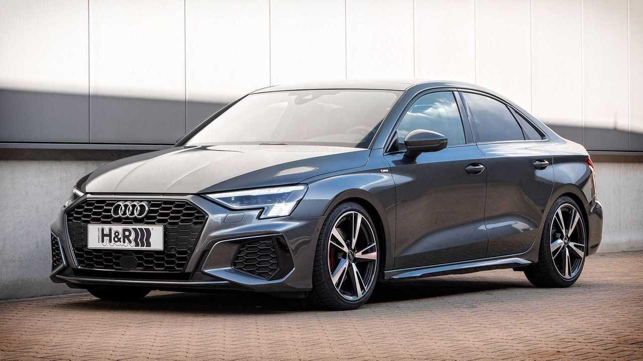 H&R hat Sport- und Gewindefedern für den Audi A3 entwickelt