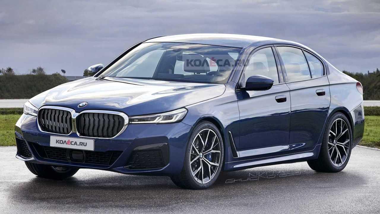 BMW 5 Serisi Render Ön Cephe