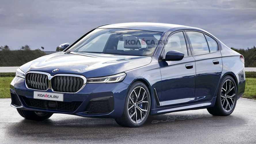 Rendering: So könnte der nächste BMW 5er (2023) aussehen