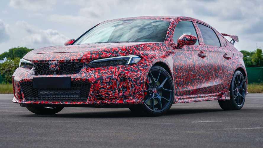 Nova geração do Honda Civic Type R tem primeiras fotos divulgadas