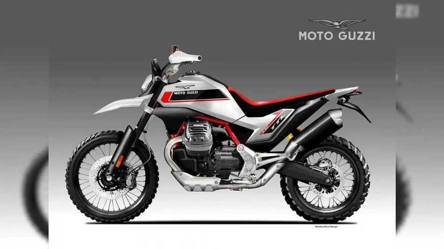 Así imagina Oberdan Bezzi la Moto Guzzi V90 TTL