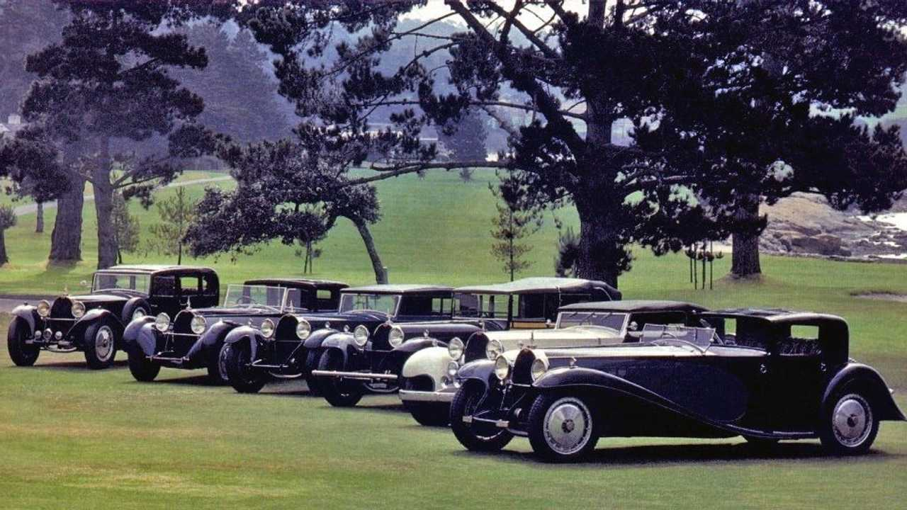 Bugatti Type 41 Royale, le foto storiche