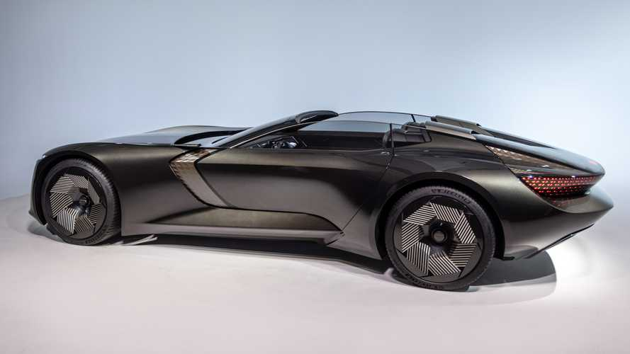 Audi Skysphere: Elektro-Roadster mit variablem Radstand