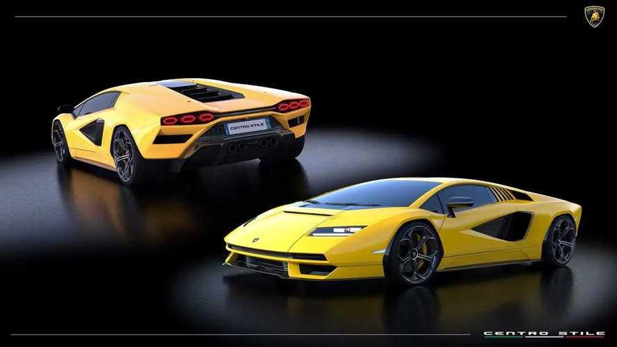 Lamborghini рассказала, в какие цвета можно покрасить Countach