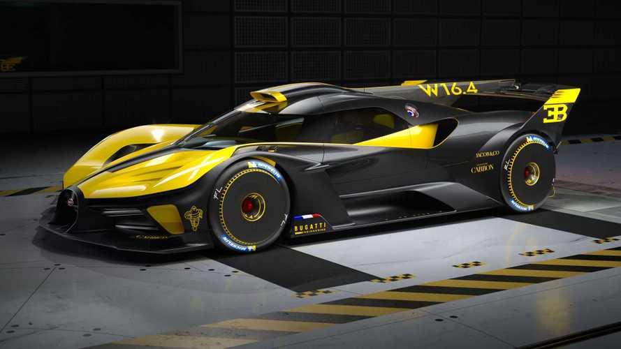 A Bugatti Bolide kapja a legszebb hiperautónak járó díjat