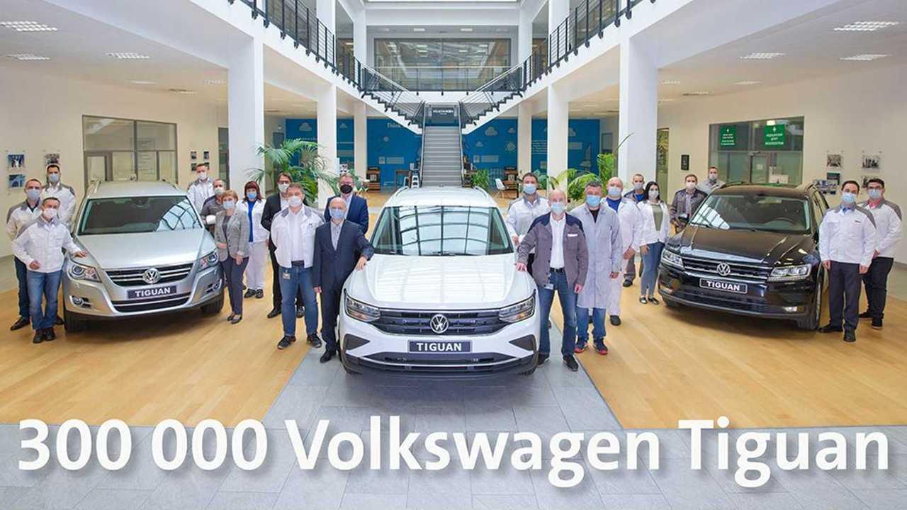 В Калуге выпустили 300-тысячный Volkswagen Tiguan