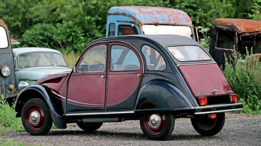 Dos Citroën 2CV Charleston, a subasta