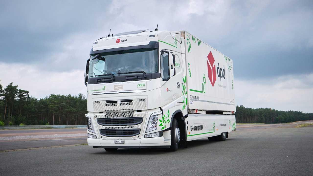 Futuricum Logistics 18E, a rekord autonómiával rendelkező elektromos teherautó