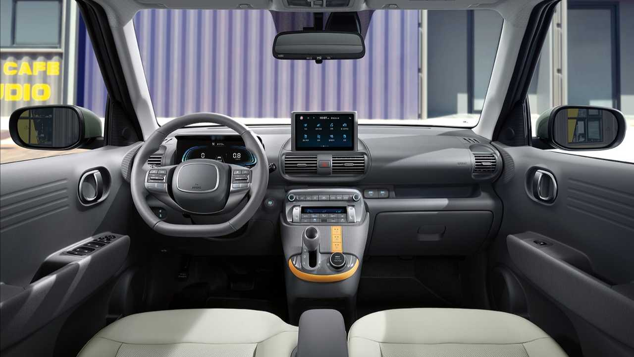 Hyundai Casper interior