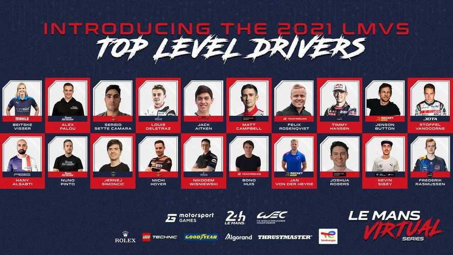 Motorsport Games y ACO revelan la lista de pilotos de las Le Mans Virtual Series 2021-22