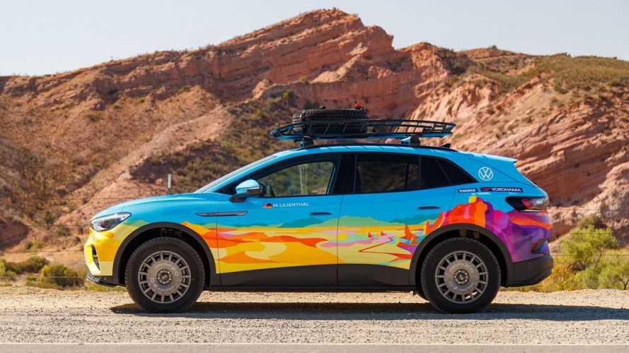 Volkswagen ID.4 GTX para el Rebelle Rally 2021
