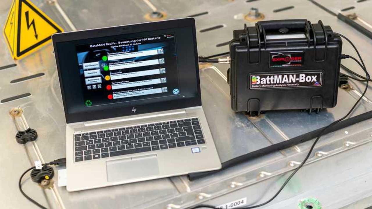 BattMan-System von VW checkt den Gesundheitszustand von Elektroauto-Batterien