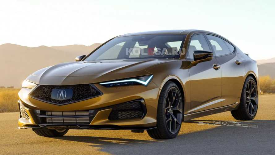 New Acura Integra Takes After The TLX In Unofficial Renderings