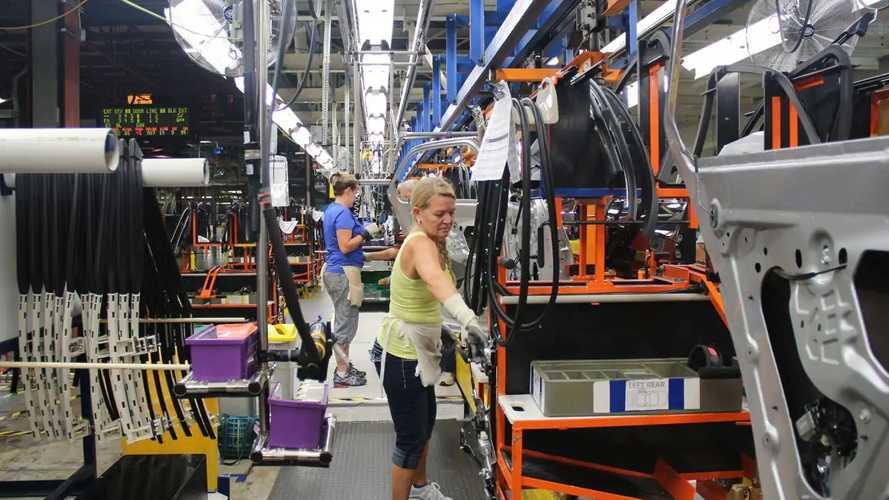 La fabbrica GM di Spring Hill, Tennessee