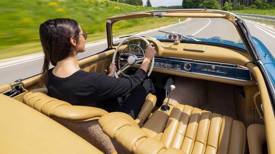 Megmutatta a Mercedes-AMG az SL kabrió négyüléses belterét