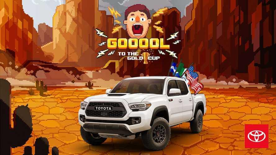 Toyota Mobile Game Ini Bikin Anda Berteriak: 'Goool!' Demi Tacoma