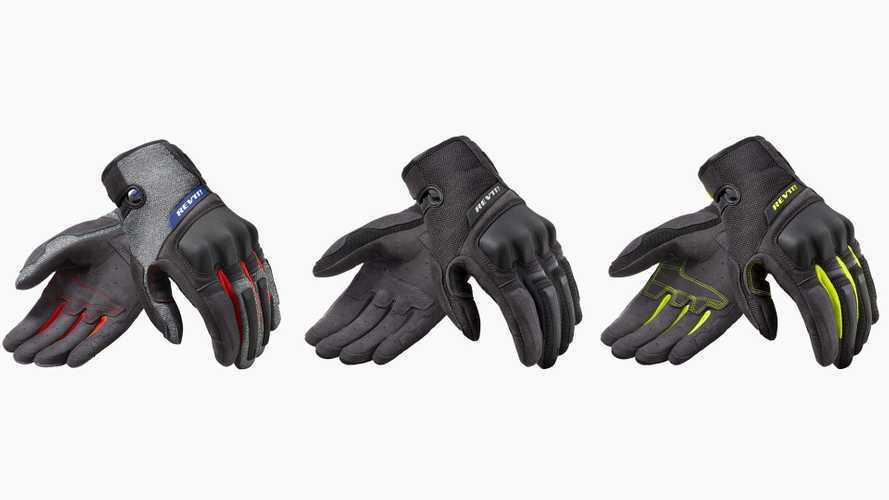 REV'IT Volcano Gloves Erupt On The Scene To Combat Summer Heat