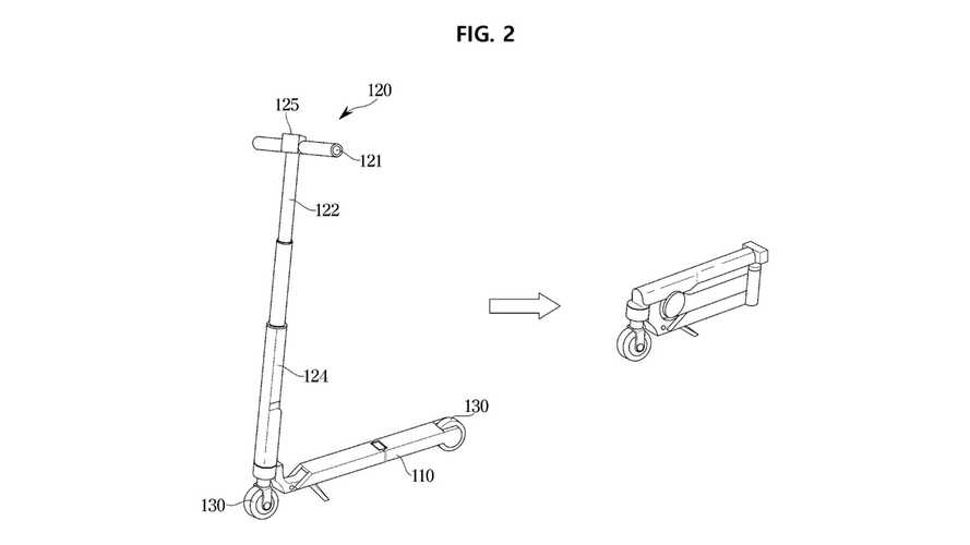 Hyundai Patent Electric Scooter