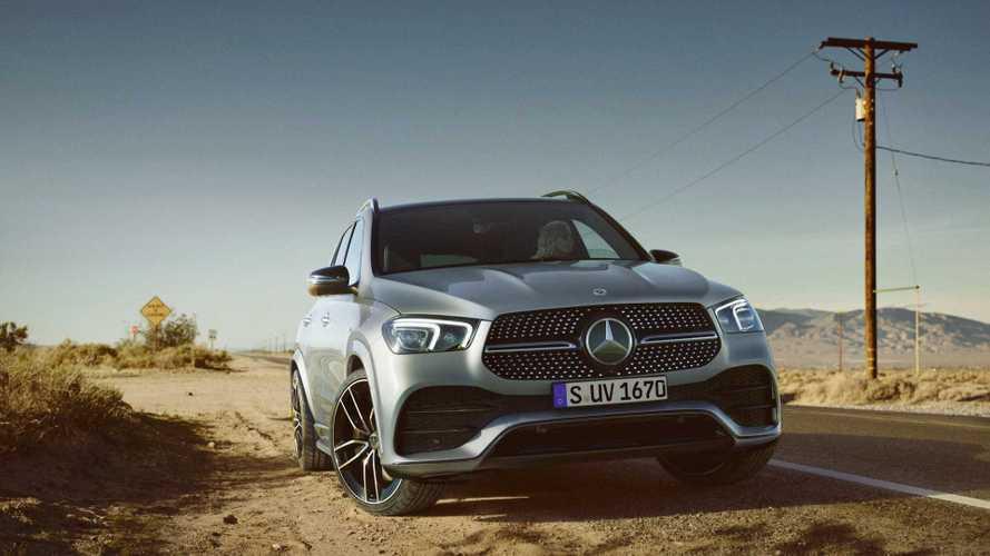 Mercedes GLE und GLE 300 d Coupé jetzt als Diesel-Mildhybrid
