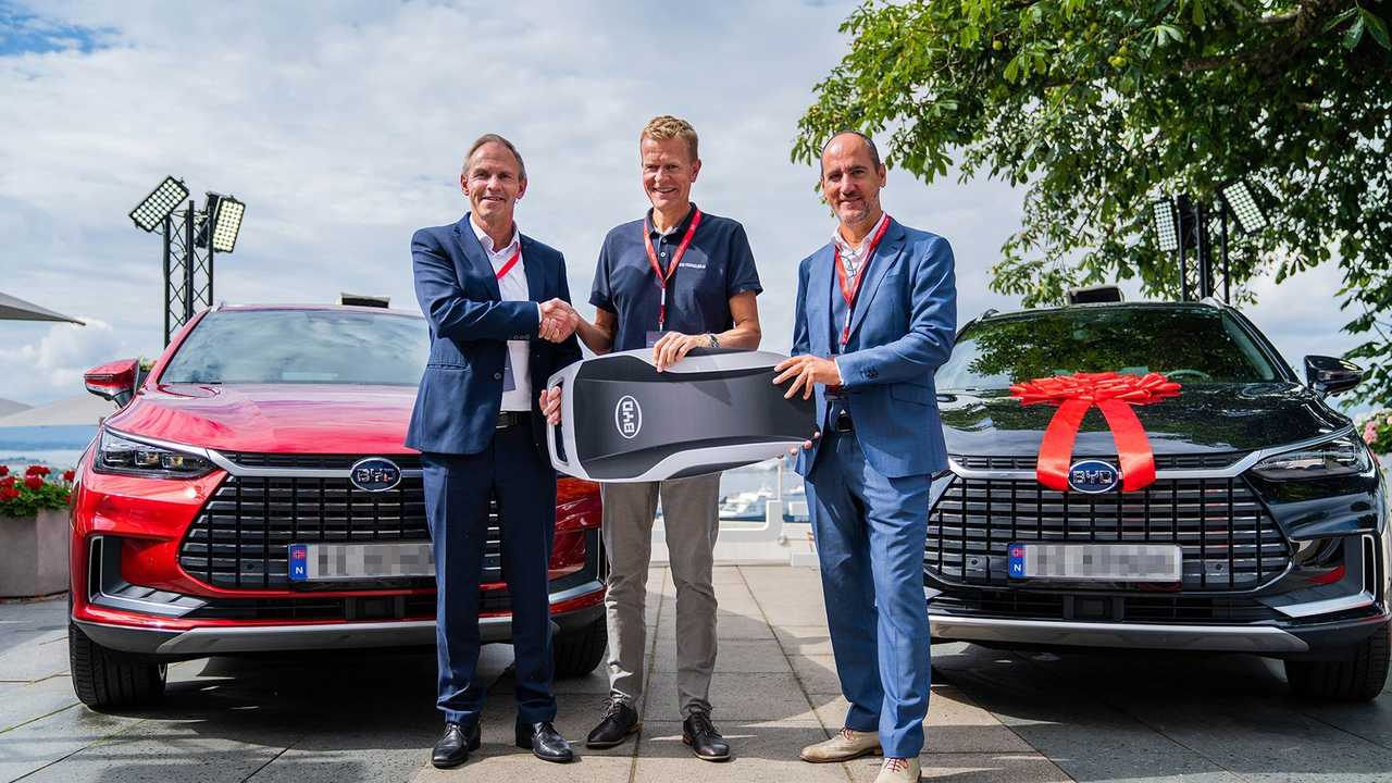 2021 BYD Tang deliveries in Norway