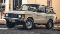 Dieser Range Rover Classic lässt das neue Modell alt aussehen