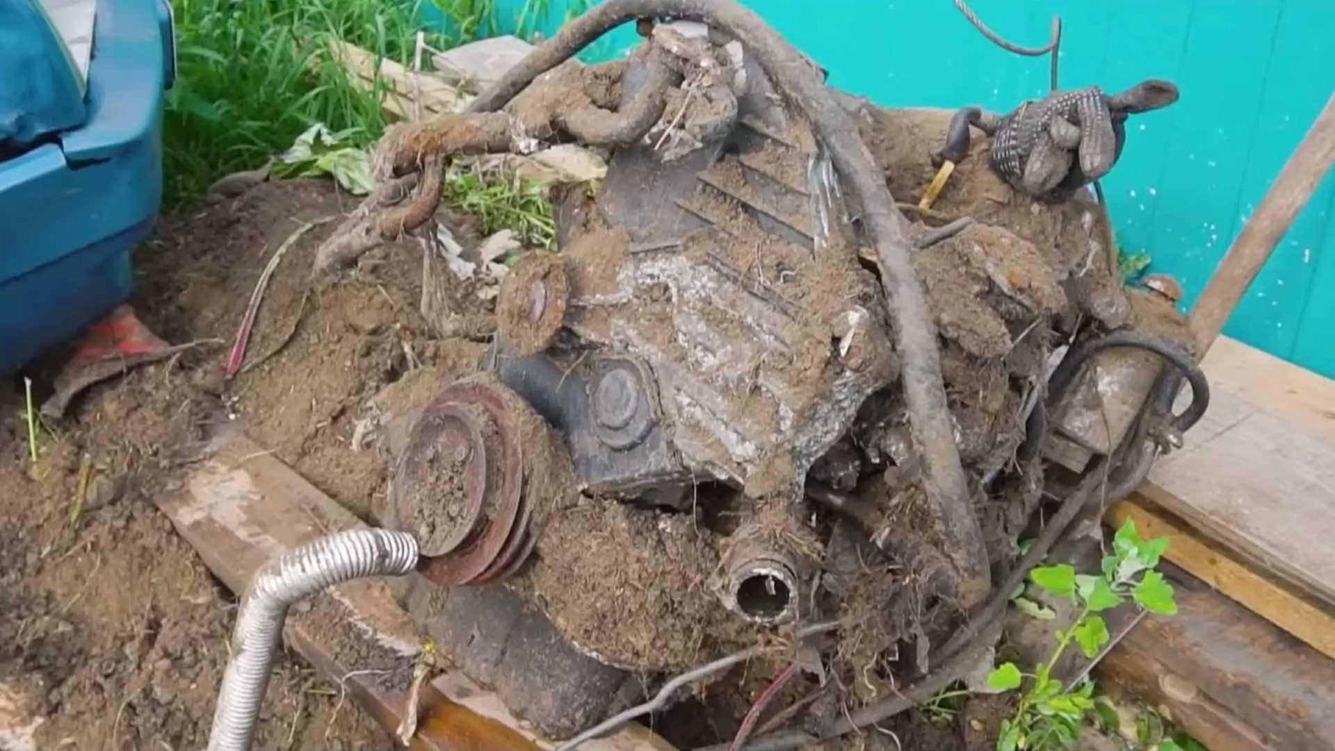 Ce moteur Toyota enterré il y a 1 an va-t-il redémarrer ?