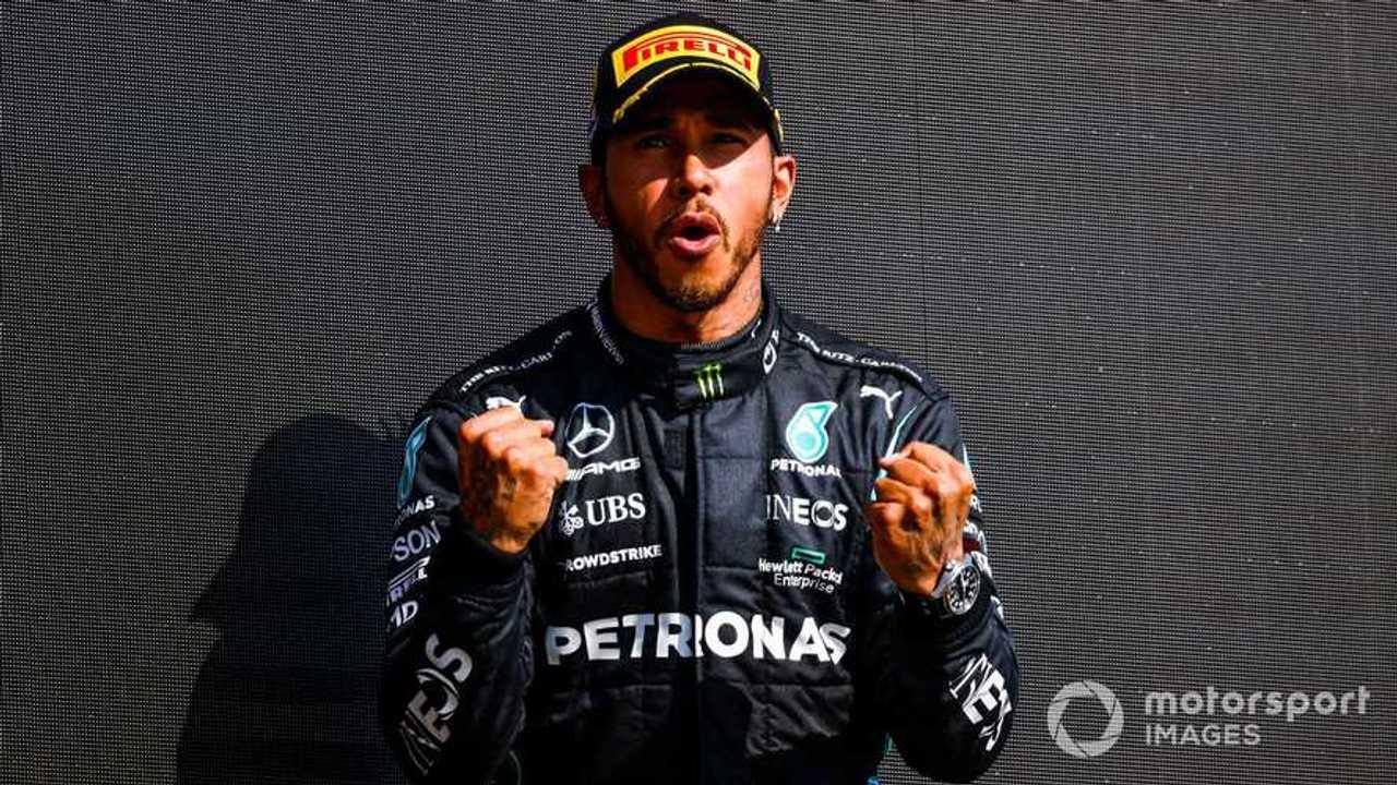 Lewis Hamilton at British GP 2021