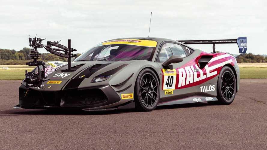 UK: New Ferrari 488 camera car could be world's fastest film rig