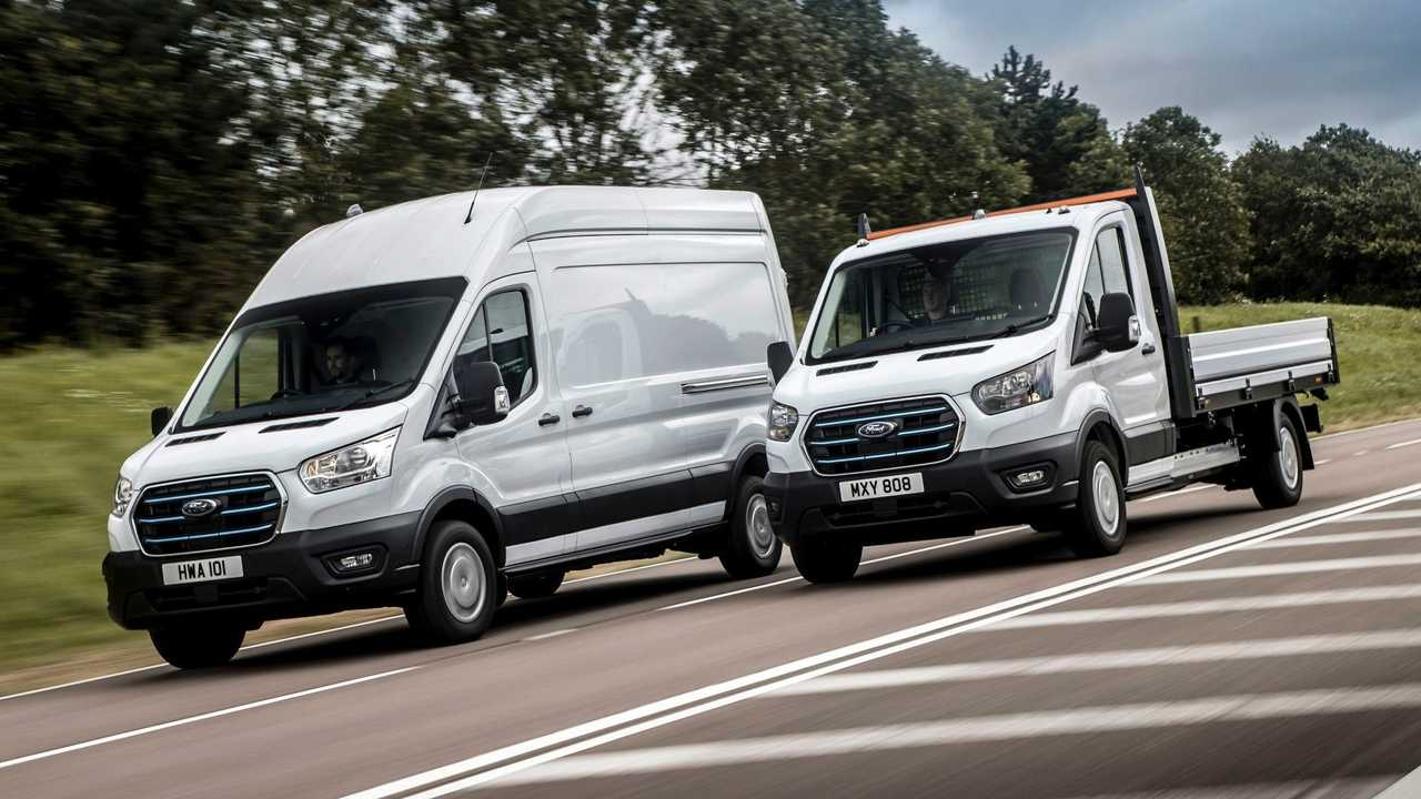 Ford E-Transit European specification 3